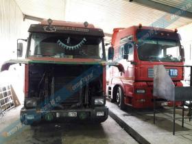Ремонт интеркулера Scania с установкой