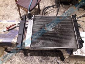 Ремонт радиатора Тойота